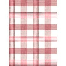 Red Check Vinyl Oil Cloth