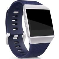 Fitbit Ionic Armband Grš§e L Ersatz Band Silikon Sport Ersatzband Fitness Blau