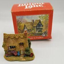 Lilliput Lane Cottage Miniature Sweet William L2046 w/original box deed preowned