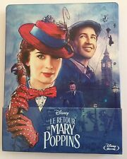 LE RETOUR DE MARY POPPINS. BLU RAY STEELBOOK VF Comme Neuf