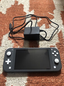 Nintendo Switch Lite With Charger, Used- Gray