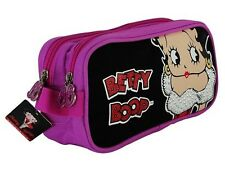Betty Boop Make Up and Accessories Travel Bag Pink/ Black