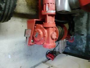 Seilwinde hydraulisch Anbaugerät mit Zapfwellen Hydraulikpumpe
