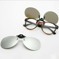 Clip On Polarized Sunglasses Lens Flip Up Outdoor Driving Shades Fishing Rx K224
