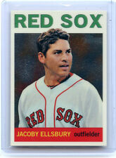 "2013 TOPPS HERITAGE #HC46 JACOBY ELLSBURY ""CHROME"" #597/999 - BOSTON RED SOX"