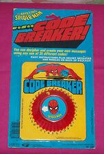 vintage Gordy THE AMAZING SPIDER-MAN CODE BREAKER MOC