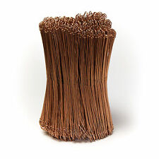 """Copper coated Metal sack tie wires for fixing Bags 9"""""""