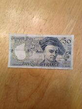 1990 50 Francs A.61 From France (VERY RARE BILL)