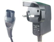 Reino Unido Cargador Cable de alimentación de 3 Pines Para Afeitadora Philips HQ8260