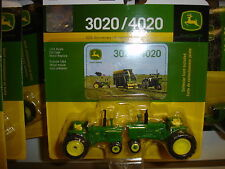 NEW JOHN DEERE 1/64TH SCALE 50TH ANNIVERSARY SET 3020 AND 4020 TRACTORS