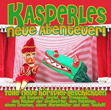 Kinder Hörbuch CD Kasperles neueste Abenteuer! 2CDs