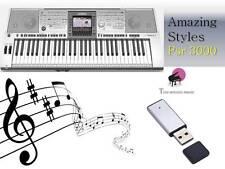 PSR 3000 USB-Stick + INCREDIBILI stili