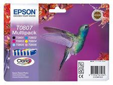 EPSON Nr. T0807 DRUCKERPATRONEN R360 R285 RX585 R265