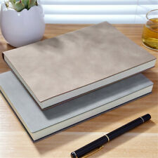 A5 Leather Cover Vintage Journal Notebook Lined Paper Diary Planner 260 Pages