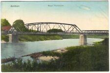 Ansichtskarte mit: Amlikon Neue Thurbrüke 1913