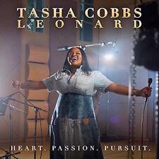 TASHA COBBS LEONARD CD - HEART PASSION PURSUIT (2017) - NEW UNOPENED - GOSPEL
