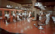 Philadelphia PA Barber Shop Bellevue Stratford Hotel Postcard