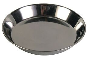 Trixie Small Stainless Steel SHALLOW Bowl Kitten Bowls Dish 0.2 l/ø 13 cm