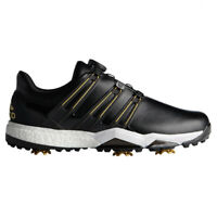adidas Powerband Boa BOOST Golf Shoe Size 9 WIDE Black RRP£125 Brand New F33789