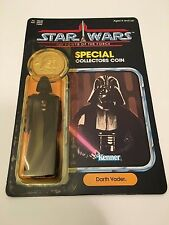 NEW Star Wars POTF 1984 Darth Vader Special Collectors Coin Power of The Force