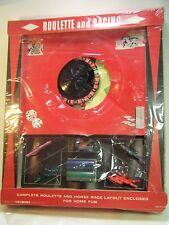 Roulette Racing Game Bar-Zim Barzim Vintage Wheel Horses chips dice Complete NOS