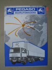 PEGASO  Dutch trucks - Niederlandische Lastwagen  brochure / Prospekt  1983.