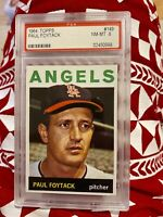 PSA 8 1964 Topps Paul Foytack Los Angeles Angels 1964 #149 NM-MT