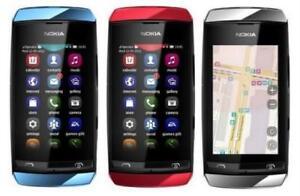 "Unlocked Nokia Asha 306 2MP Camera Wi-Fi 3"" GSM 850 900 1800 1900 Mobile Phone"