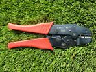 Burndy MR15 - RATCHET TOOL-VINYL INSUL RED NEVER USED SEE PICTURES