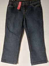 "WOMEN'S JEANS TARGET CROP STRETCH SIZE 16/34 LEG 24"" NWT FREE POSTAGE"