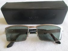 Krass gunmetal / black glasses frames. K6405. With case.