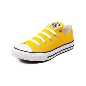 NEW Converse Chuck Taylor All Star Lo Sneaker Lemon Yellow YOUTH Shoe