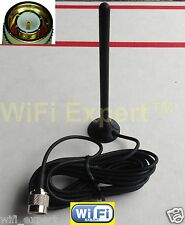 "CYFRE 4"" 3 DB Mag Mount Multi Quad Band Cellular Antenna for Car Truck Home"