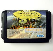 POPULOUS (JAP version) - Jeu pour Megadrive / Game for Sega Mega Drive