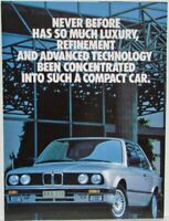 1998-2000 BMW 3-Series Sales Folder 318i 323i - Australian Mkt