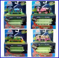Thomas & Friends TrackMaster Hyper Glow Train Engines Ashima Nia Thomas or Percy