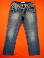 LEVIS Jean Femme Taille 28 US - Modèle 570 gris stretch- 1m60