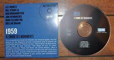 CD jazz 1959 Lee Konitz Bill Evans Brookmeyer Hendricks Duke Ellington Brand