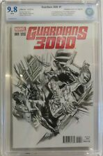 Guardians 3000 #1 - Alex Ross Sketch Variant 1:100 - CBCS 9.8 (NOT CGC)