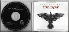 MAXI CD THE CROW BRANDON LEE BO FILM COLLECTOR 4T CURE/HELMET/RAGE AGAINST/STONE