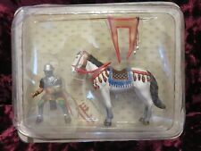 Frontline Mounted Medieval Mounted Knight Crusader on Horse Riding with Flag #35