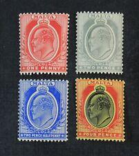 Ckstamps: Gb Stamps Collection Malta Scott#32 34 36 38 Mint H Og