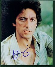 AL PACINO SIGNED 8X10 COLOR PHOTO EARLY PORTRAIT