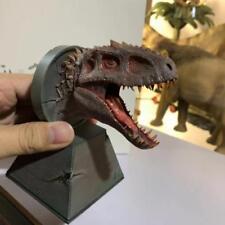Jurassic World  Dino King Bereserker Rex T-Rex Dinosaur Head Resin Statue New