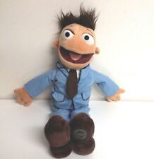 """Disney Store Authentic Muppets Most Wanted 18"""" Plush Walter In Blue Suit"""