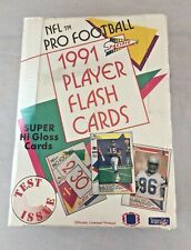 1991 Pacific Factory Sealed Player Flash Cards Football Hobby Box - Test Issue