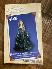 Hallmark Keepsake Celebration Barbie Ornament Collector's Series 2004 - Nib