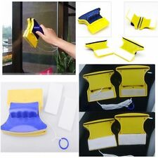 Double Side Magnetic Window Glass Cleaner Glazing Wiper Home Cleaning Tool NEW