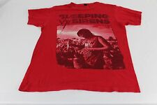 Sleeping With Sirens Band Shirt Women's Red Medium M T-shirt