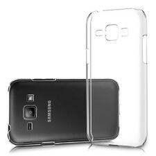 Pour Samsung Galaxy J1 (version 2015) Coque Etui Gel Silicone Tpu Transparent